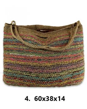 Jute SHOPPING BAG- upcycling Tragetasche