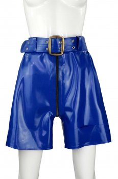 LATEX PAPERBAG SHORTS CLARA
