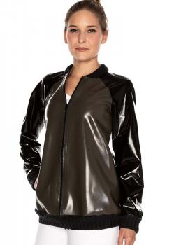 LATEX BOMBERJACKE
