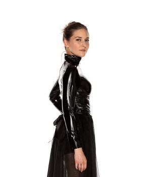 LATEX ROLLKRAGEN SHIRT